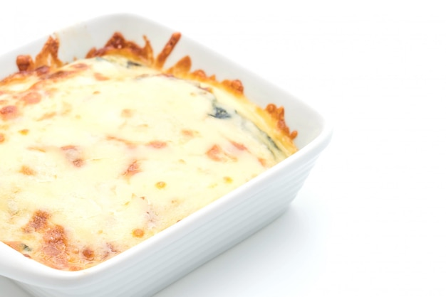 Épinards au fromage