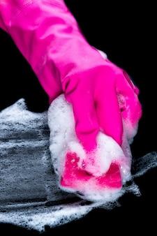 Éponge de nettoyage en mousse
