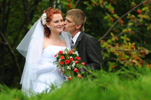 Époux et épouse, portrait commun