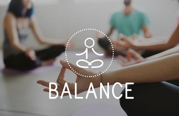 Équilibre santé vie saine méditation