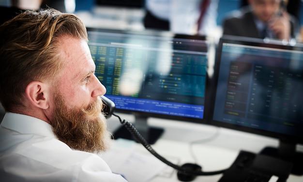 Équipe de bourse en ligne