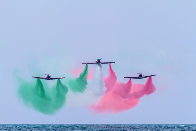 Équipe de pionniers d'avions