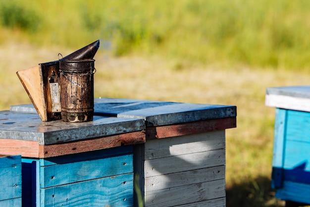 Un équipement de base apicole