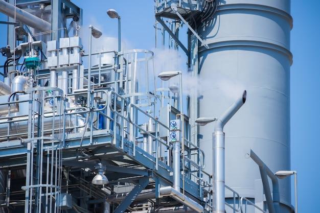 Équipement dans une raffinerie de pétrole