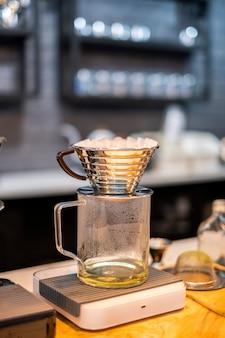 Équipement d'égouttement de café