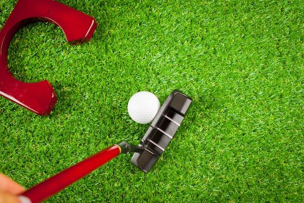 Équipement de mini golf