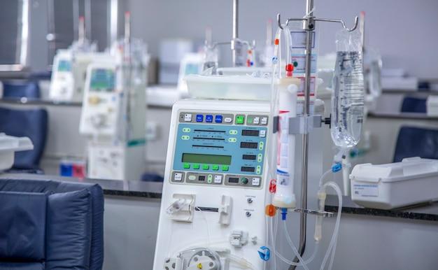 Equipement de salle d'hémodialyse