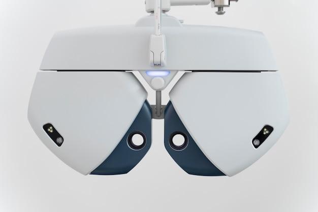 Équipement spécial pour les problèmes d'ophtalmologie