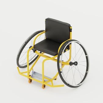 Équipement de sport paralympique en fauteuil roulant