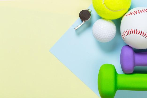 Équipements sportifs variés