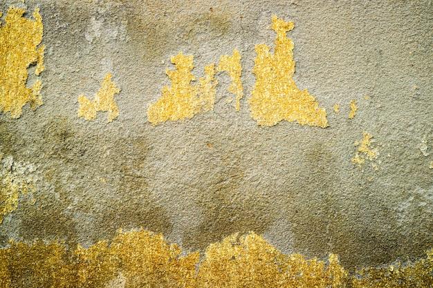 L'érosion de la surface de béton a été endommagée par les eaux souterraines