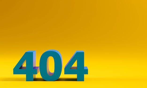 Erreur de page du site web 404. concept de problème et de désagrément.
