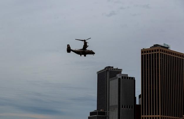 Escadron d'hélicoptères de marine de new york city manhattan un hmx-1 du président états-unis