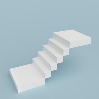 Escalier abstrait. escalier avec marches, concept d'entreprise