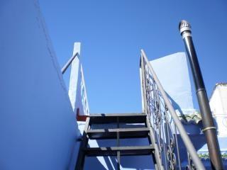 Escalier de chefchaouen