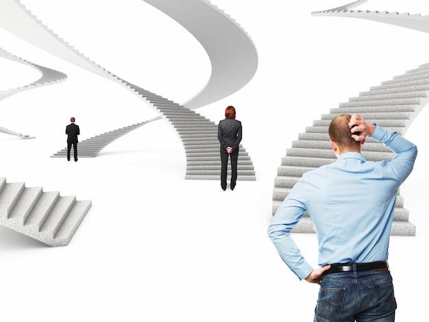 Escalier du futur