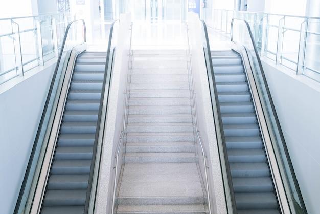 Escalier et escalier vides