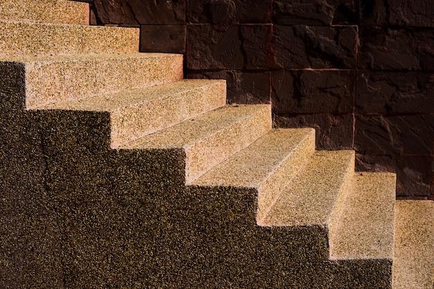 Escalier en grès simulé