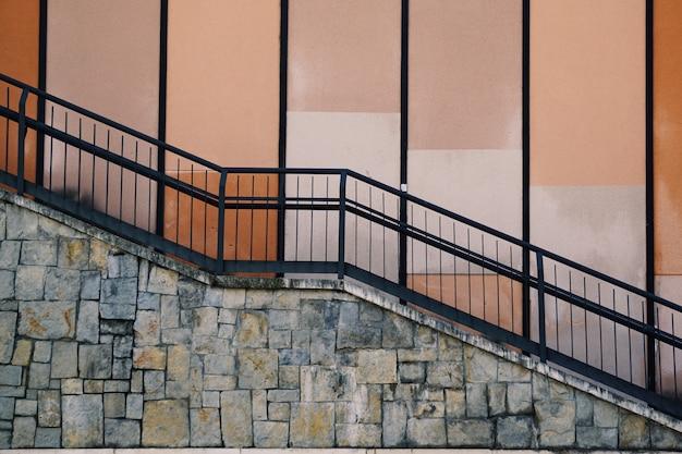 Escaliers dans la rue