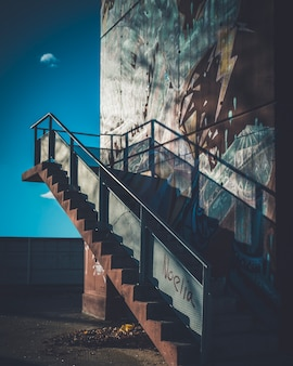 Escaliers dans la ville