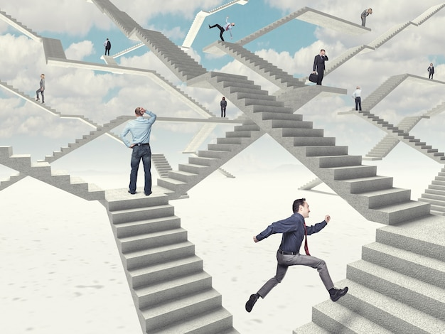 Escaliers de travail