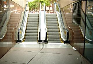 Escaliers, tunnel