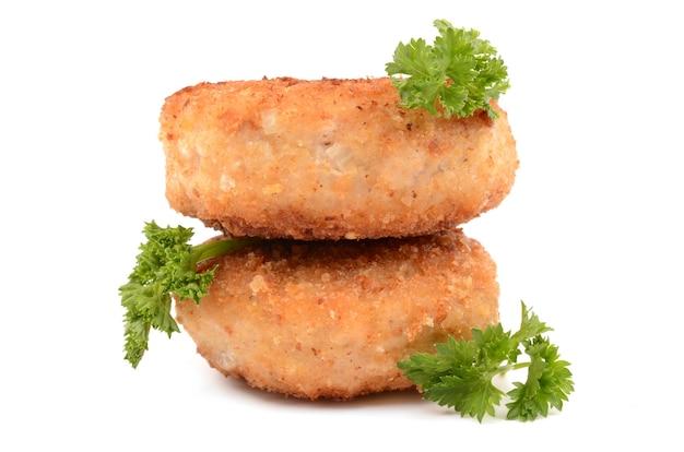 Escalopes frites