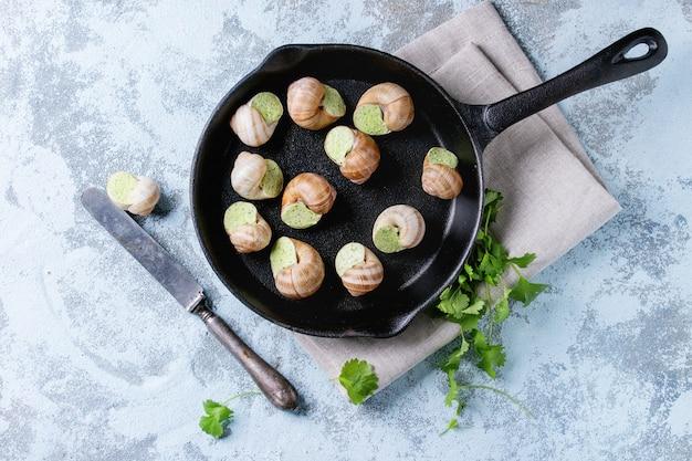 Escargots de bourgogne non cuits