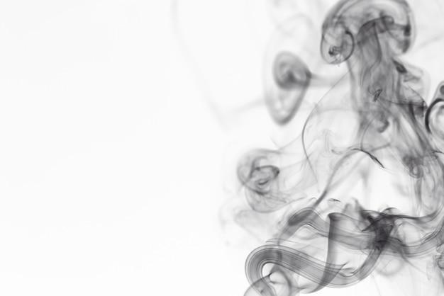 Espace abstrait fumée noire