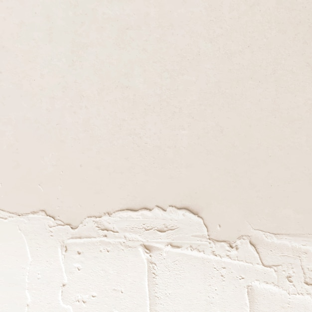 Espace de conception de texture de peinture crème