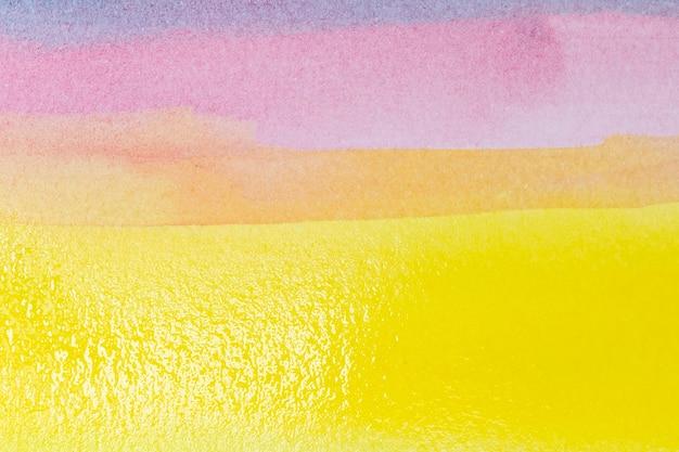 Espace de copie abstrait aquarelle