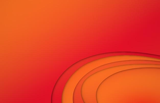Espace de copie de bannière de fond de couleur abstraite