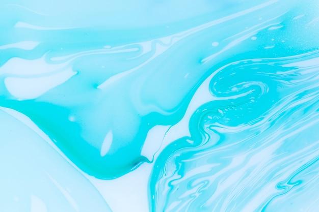 Espace de copie bleu vagues abstraites