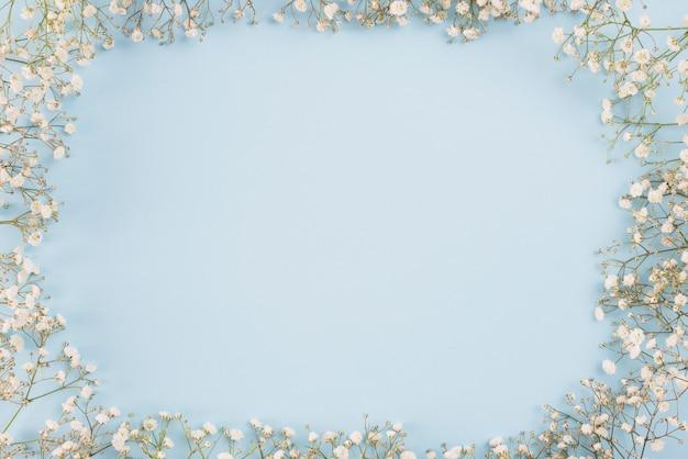 Espace de copie de fond de fleurs