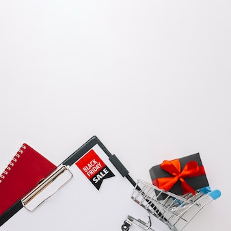 Espace de copie avec mini panier