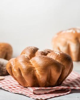 Espace de copie de pain sucré fait maison