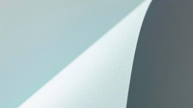 Espace copie papier gris tordu
