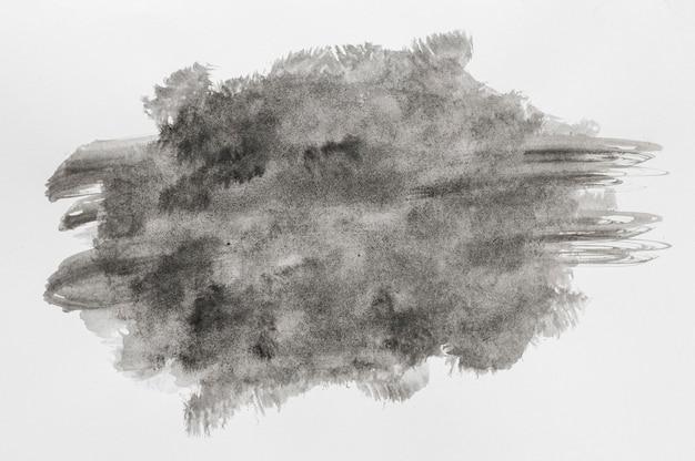 Espace de copie de peinture aquarelle noire