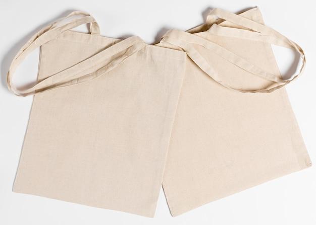Espace de copie de sac fourre-tout à plat