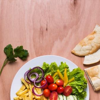 Espace de copie de sandwich kebab arabe