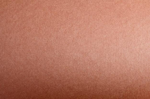 Espace de copie vide à partir de papier de couleur. fond de feuille de couleur marron