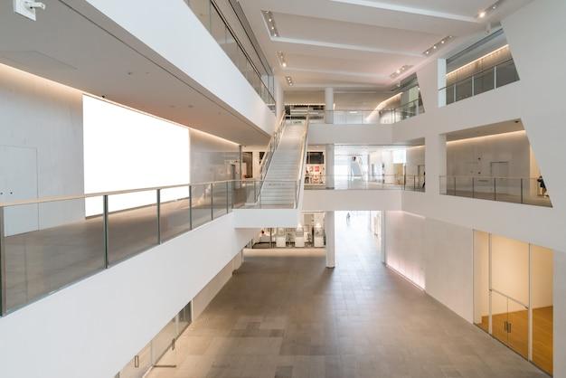 Espace intérieur du centre culturel et artistique, centre culturel et artistique de shenzhen, chine