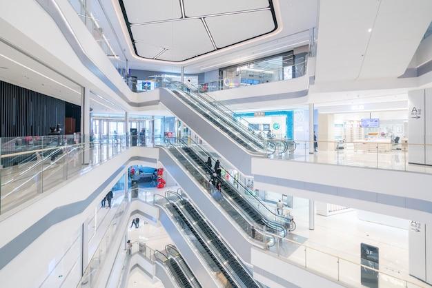 Espace intérieur du grand magasin