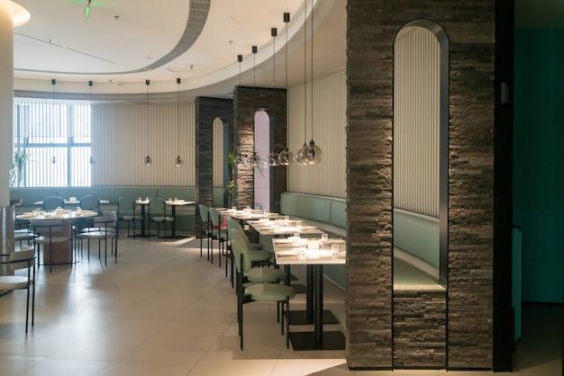 Espace intérieur du restaurant