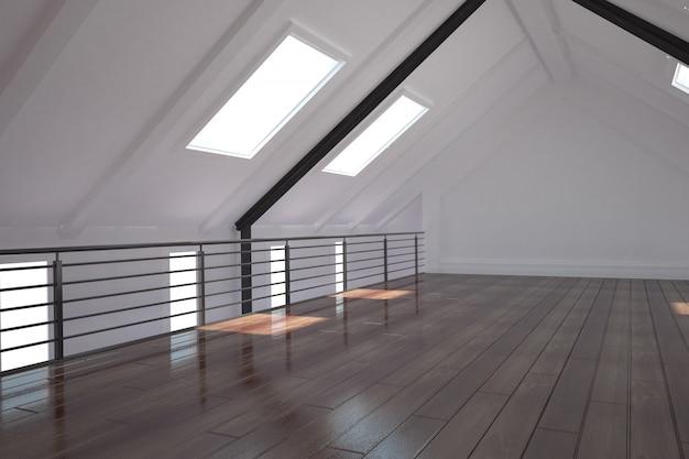 Espace loft blanc