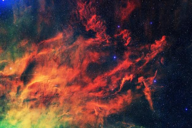 Espace profond incroyable avec des étoiles et des nébuleuses. fond d'écran cosmos