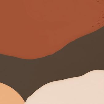 Espace de texte abstrait fond marron