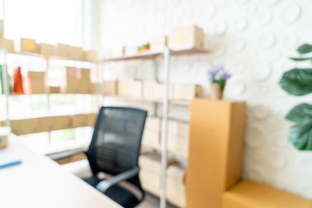 Espace de travail abstrait à la maison pour le fond