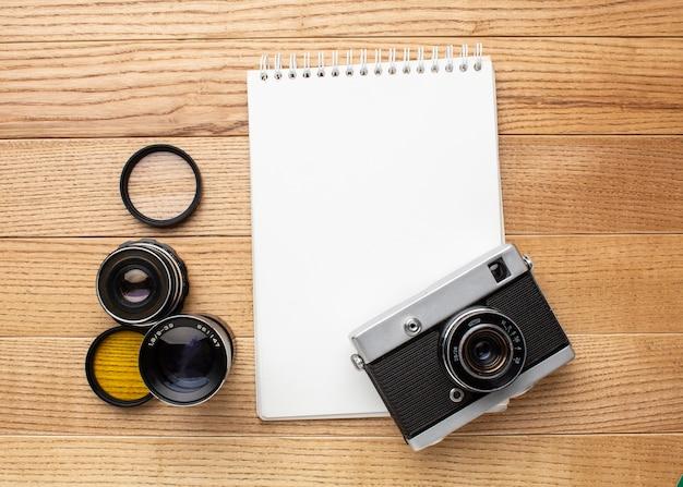 Espace de travail du photographe