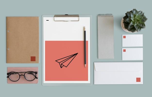 Espace de travail minimaliste